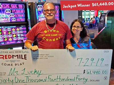 Mr. Lucky Won $61,440.00!
