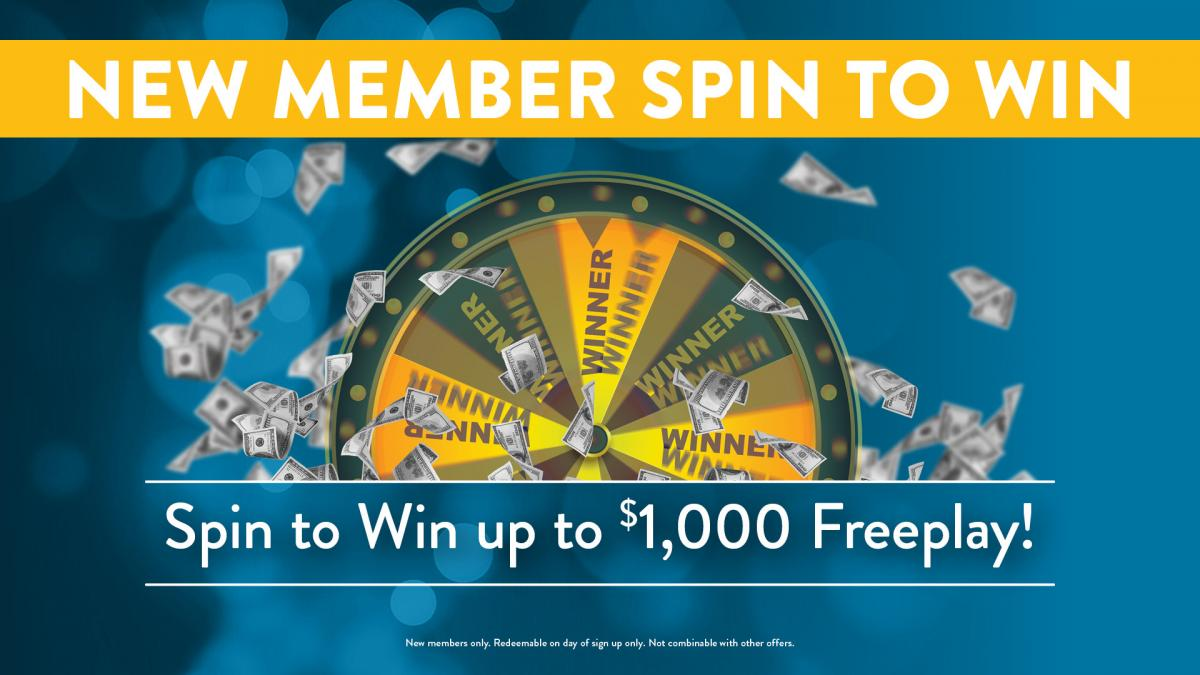 New Members Spin to Win