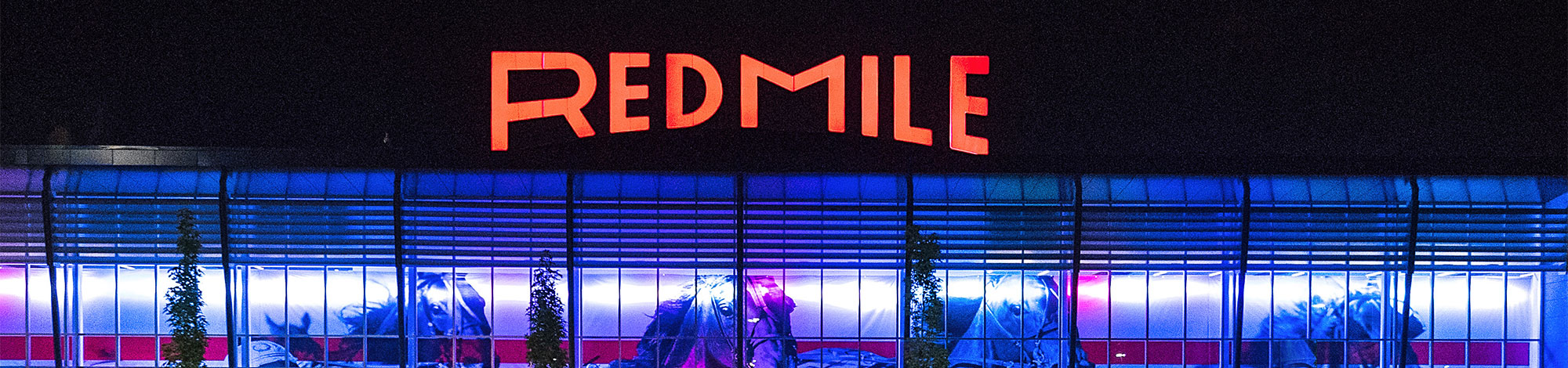 Red Mile at night