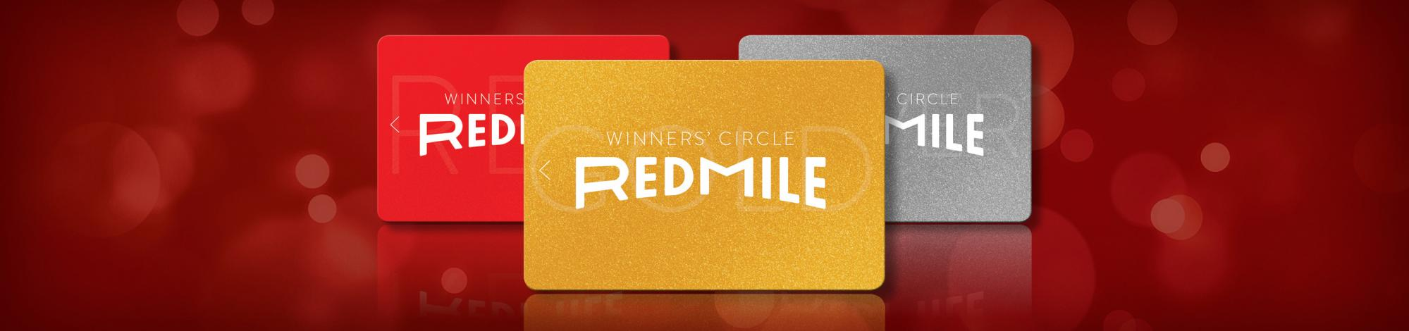 Red Mile Winners' Circle Cards